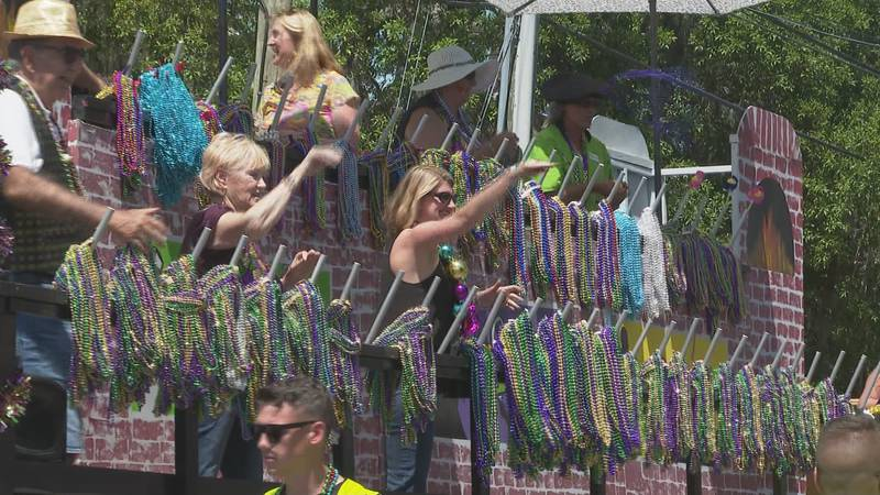 St. Andrews Mardi Gras parades rolled in May this year.