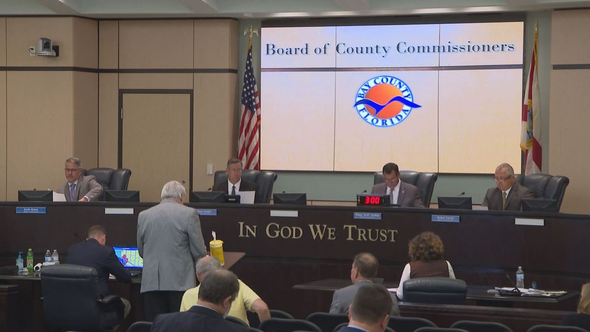 Following former Commissioner Keith Baker's arrest, we take a look at how the Bay County Commission will move forward including filling Baker's seat.