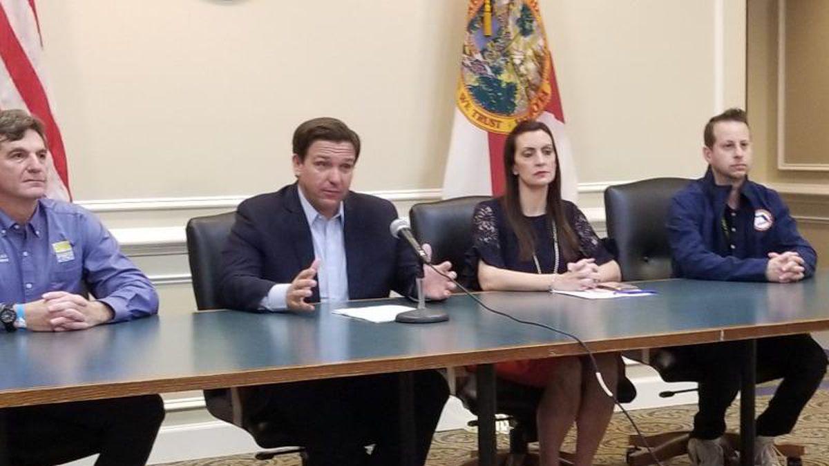 Gov. DeSantis announces second Florida checkpoint on Interstate 95. (FLORIDA NEWS SERVICE)