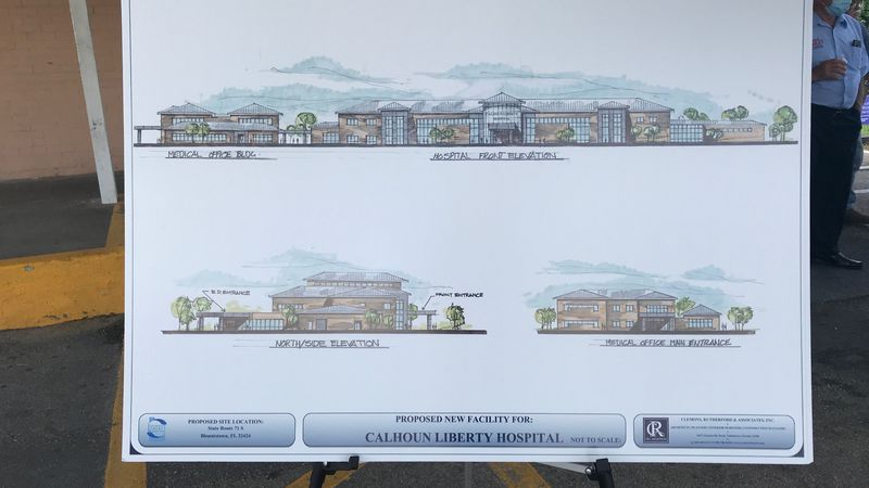 Plans revealed Friday show what the new Calhoun Liberty Hospital will look like.