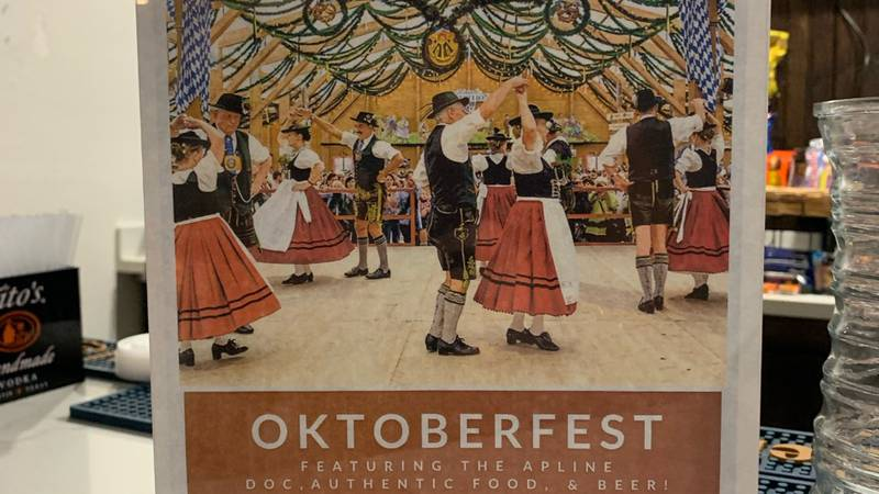 The event will feature authentic German music, German food, and German drinks.