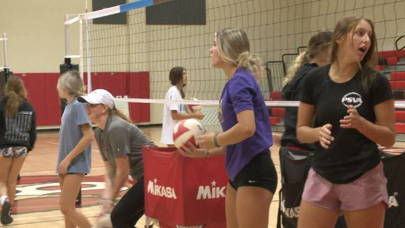 Blountstown volleyball had a busy week hosting annual kids camp.