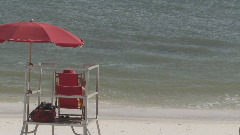 Officials remind beach-goers to pay attention to warnings.