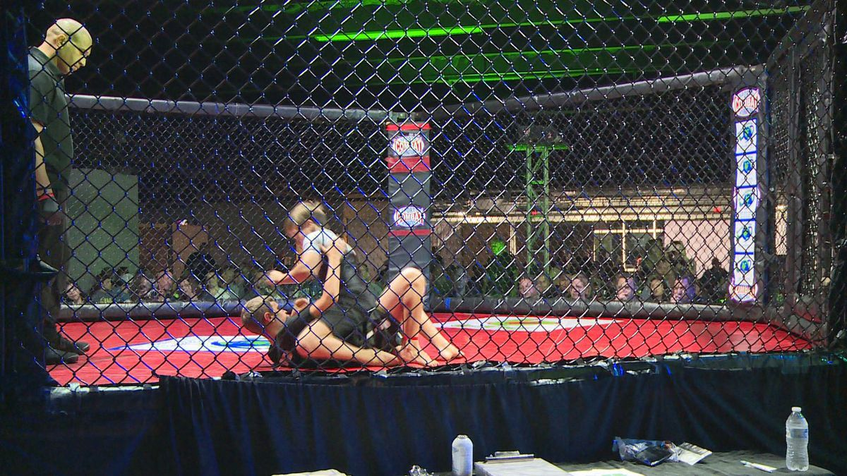 The ninth amateur MMA event was held at Laketown Wharf for people from all over to attend. (WJHG/WECP)