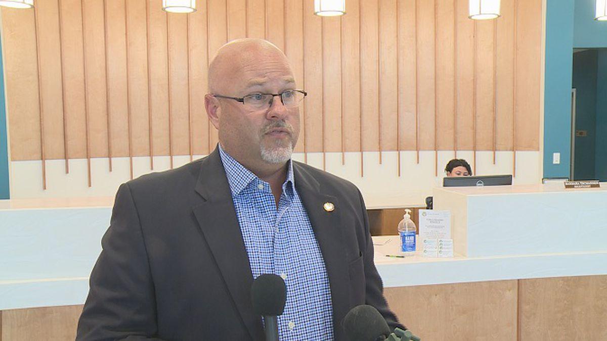 Mayor Mark Sheldon is working to get short term rentals back open. (WJHG)