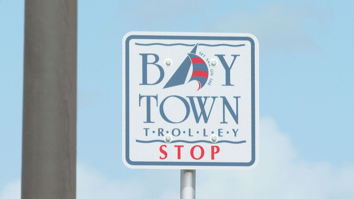 Bay County officials discuss plans to help repair trolley stops and more improvements to the Bay Town Trolley. (WJHG/WECP)