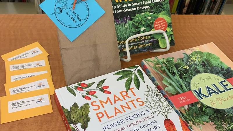 The kit comes fully equipped with seeds for fall vegetables and gardening tips.