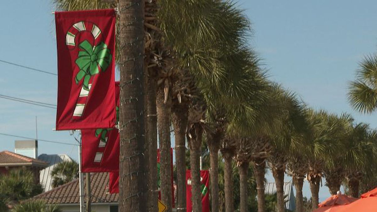 More tourists are visiting South Walton during the colder months. (WJHG/WECP)