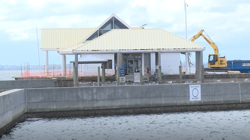 City officials say tearing down the Panama City Marina Ship Store is just another step of...