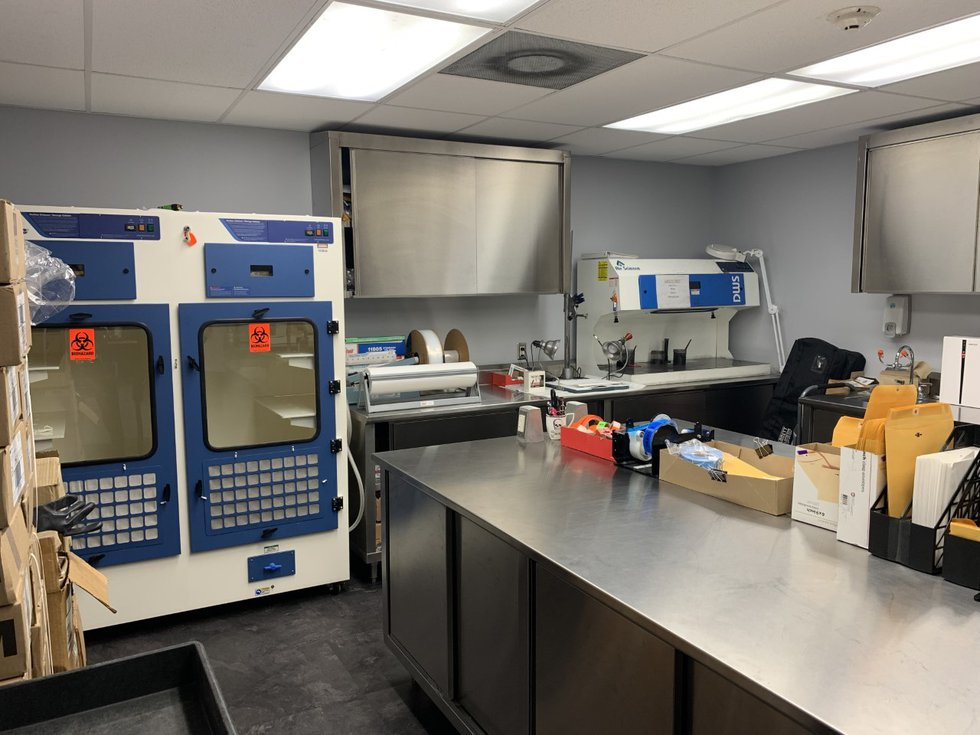 Panama City Police Department Forensic Room