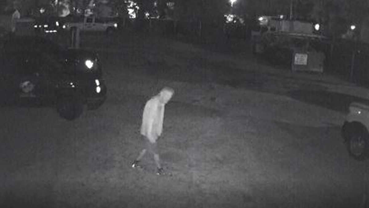 Panama City Police are looking for a burglary suspect.