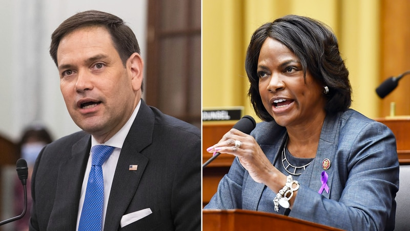 GOP Senator Marco Rubio is facing a challenge from Democratic Rep. Val Demings in the 2022 race.