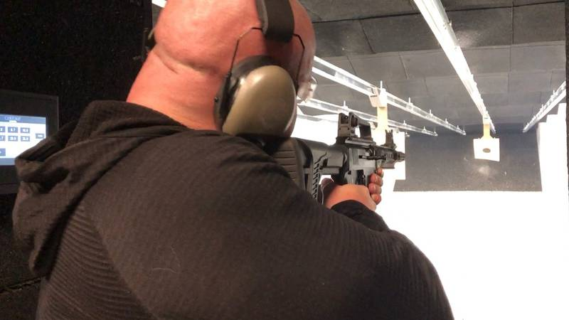Locals have a new indoor gun range and training facility called The Powder Room.