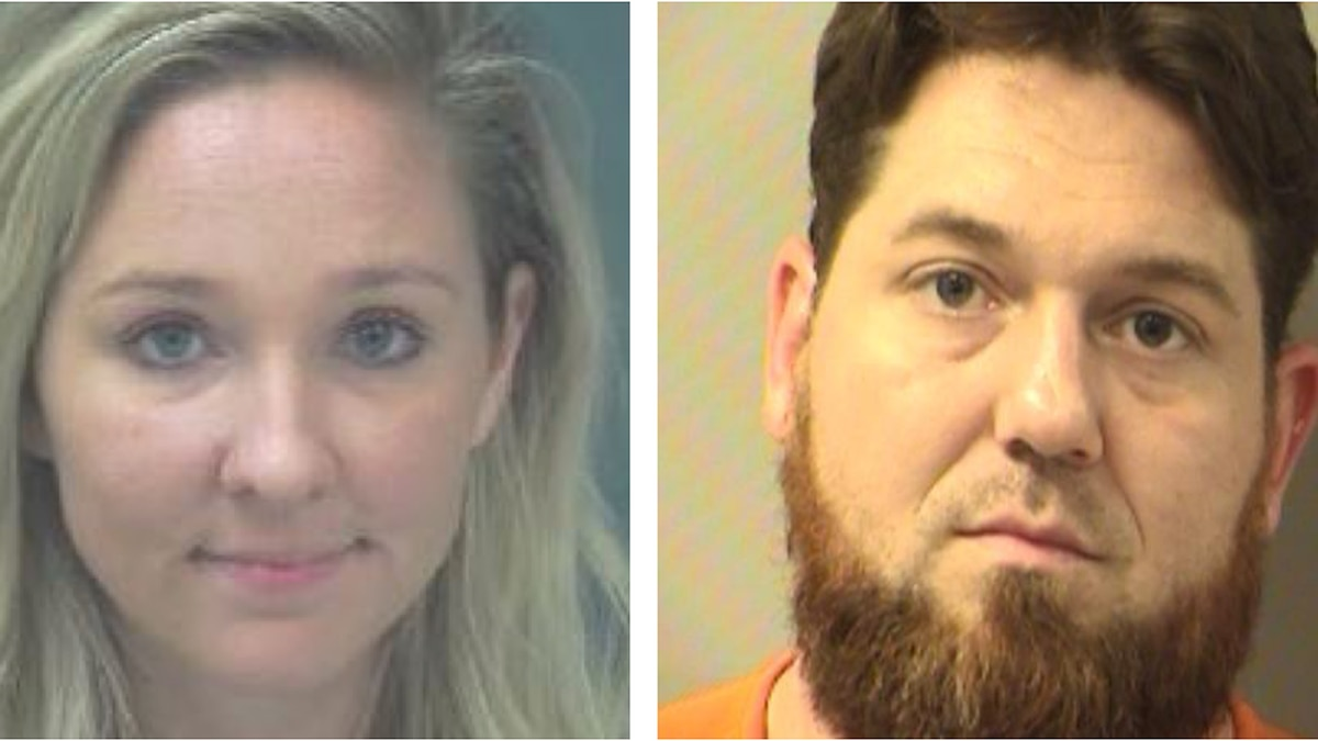 Kayla Dubois, 24, of Navarre, (left) and Christopher Wimmer, 33 of Crestview,(right), are...