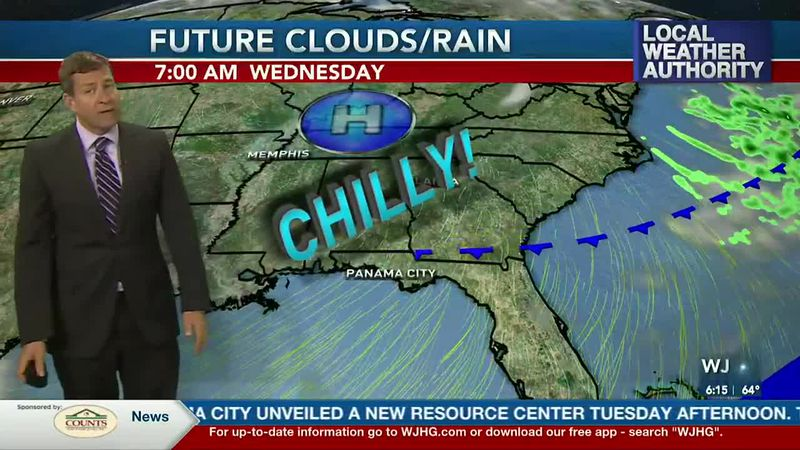 Even colder air arrives tonight into Wednesday