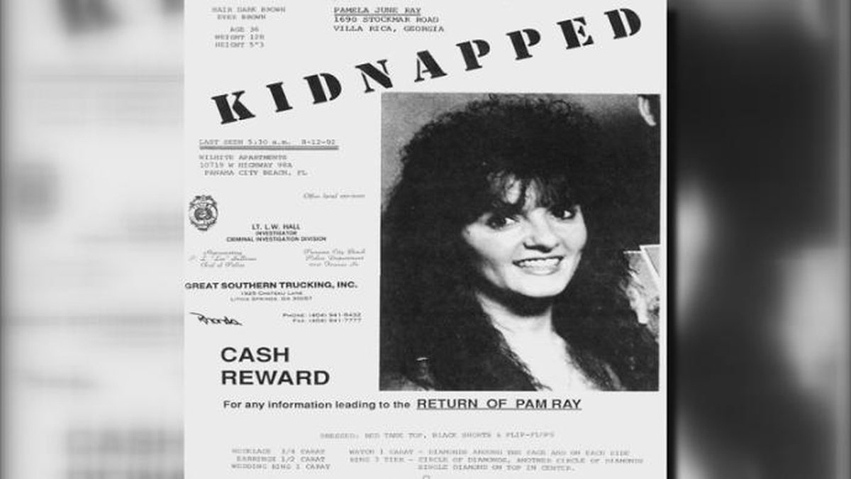 Pamela Ray disappeared from a Panama City Beach hotel in 1992. (WJHG/WECP)