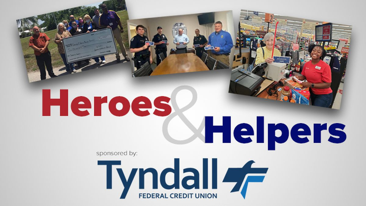 Nominate a hero or helper on our website.<br />(WJHG).