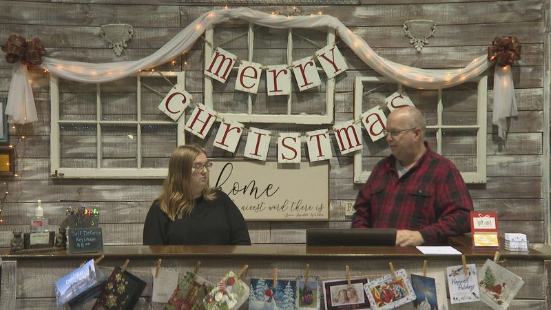 The Little Mustard Seed Co-owner Greg Snow said this holiday shopping season, locals have been...