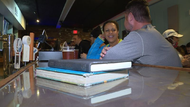 Folks are enjoying the Lie'brary on Beck, a craft beer and wine bar in St. Andrews that...