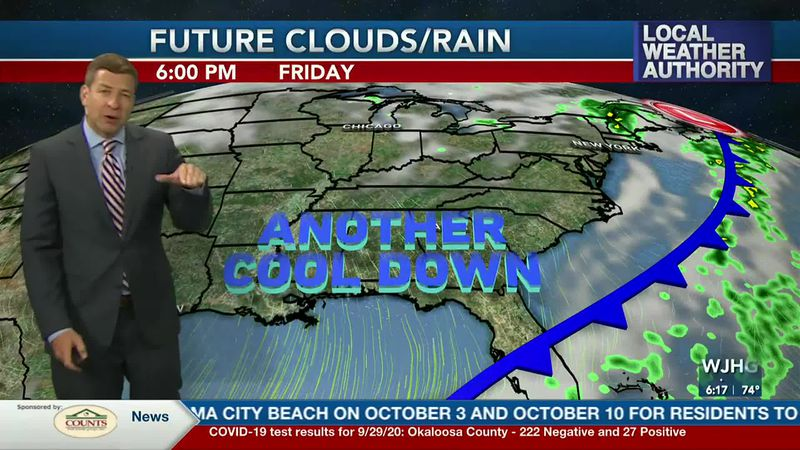 More cool weather is expected as we head into October