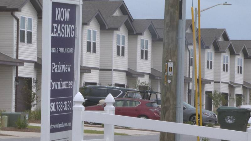 Parkview Townhomes is a new single-family home rental community.