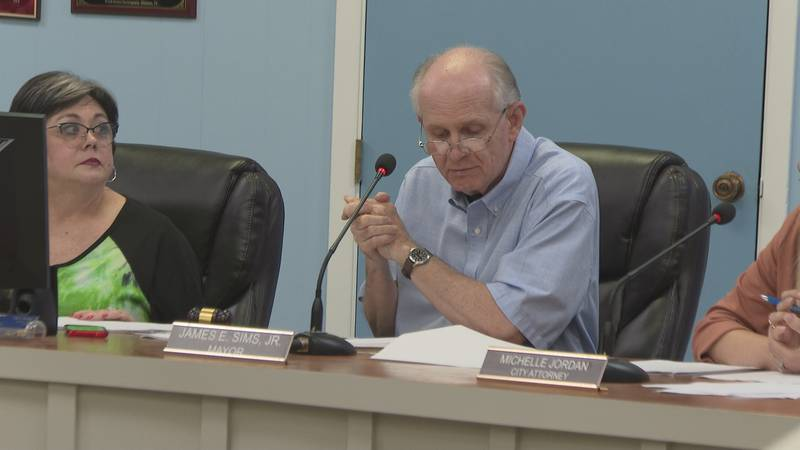 Mayor James Sims said he originally granted Paul a leave of absence for the duration of his...