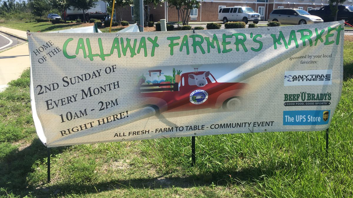 The farmer's market will be the second Sunday of each month (WJHG).