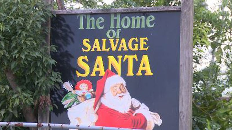 Salvage Santa is back in the workshop and needs the community's help to donate toys and bikes