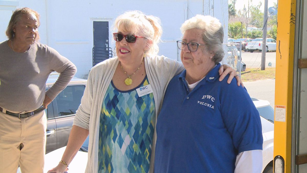 The Democratic Women's Club of Volusia County wanted to help out the people of Bay County who were still in need after Hurricane Michael. (WJHG/WECP)