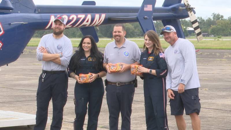 Hunger Awareness Month inspired members of AIRHeart 2 and Jackson County Fire Rescue to host a...