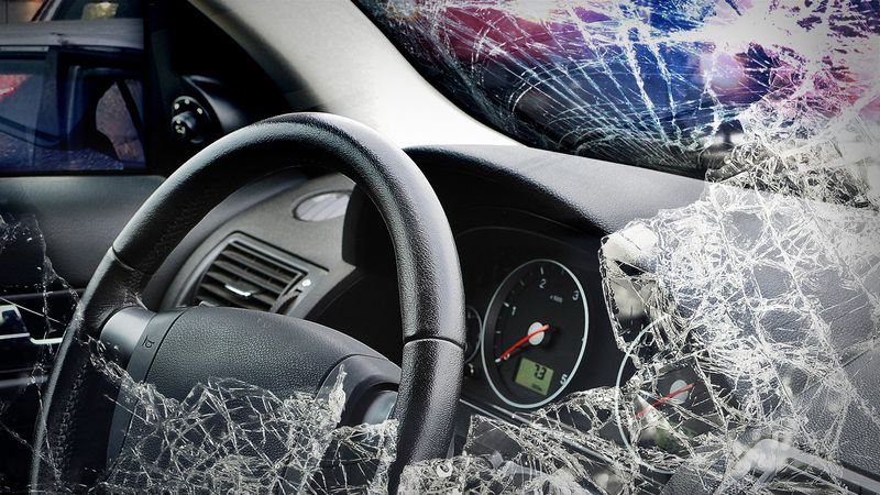 Florida Highway Patrol officials say a sedan was driving west on Chat Holley Road when it...