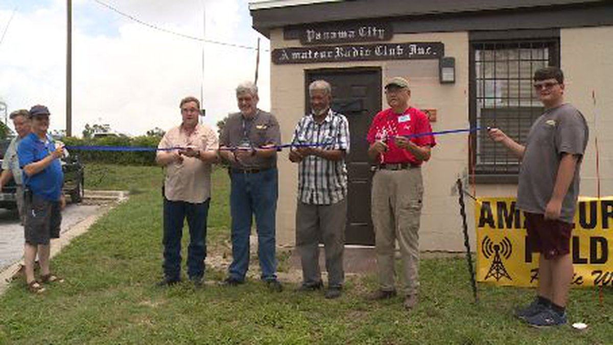 The Panama City Amateur Radio Club building suffered damages after Hurricane Michael, but now...