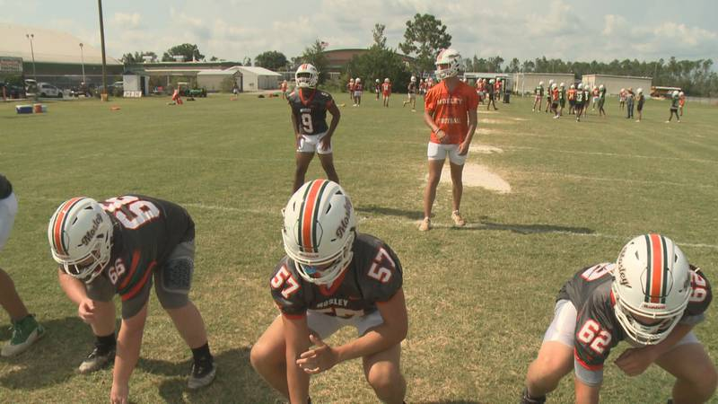 Mosley gets fall practice started