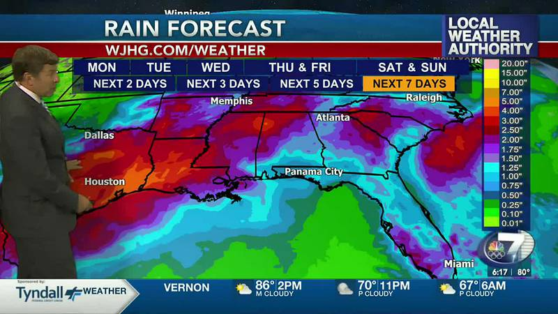 Rain chances are on the increase later this week.