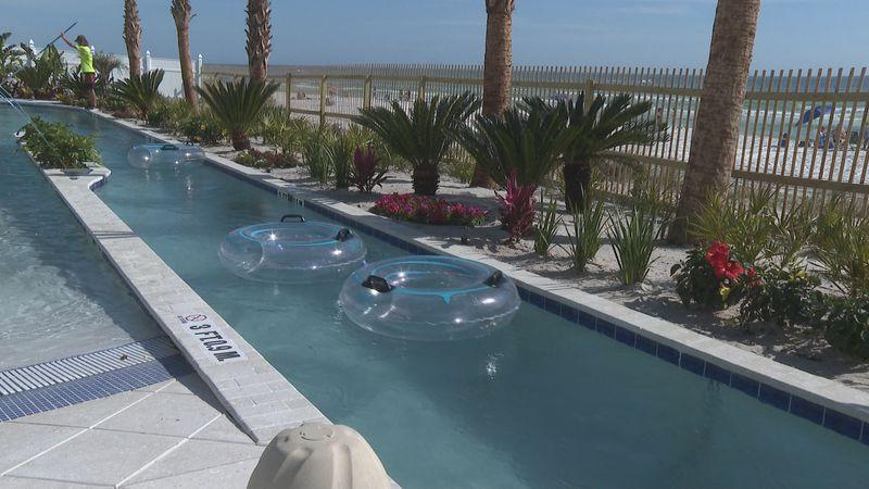 New Holiday Inn Resort lazy river opening Saturday