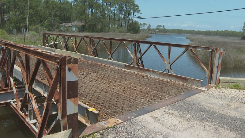 The bridge on West Wilson Street could soon be removed.