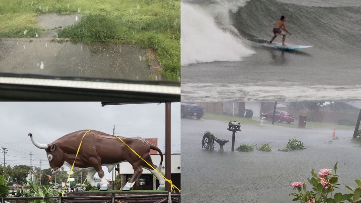 Pictures of the impacts of Fred from around the panhandle