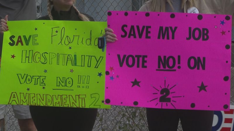 An amendment on the ballot could raise the minimum wage for Floridians.