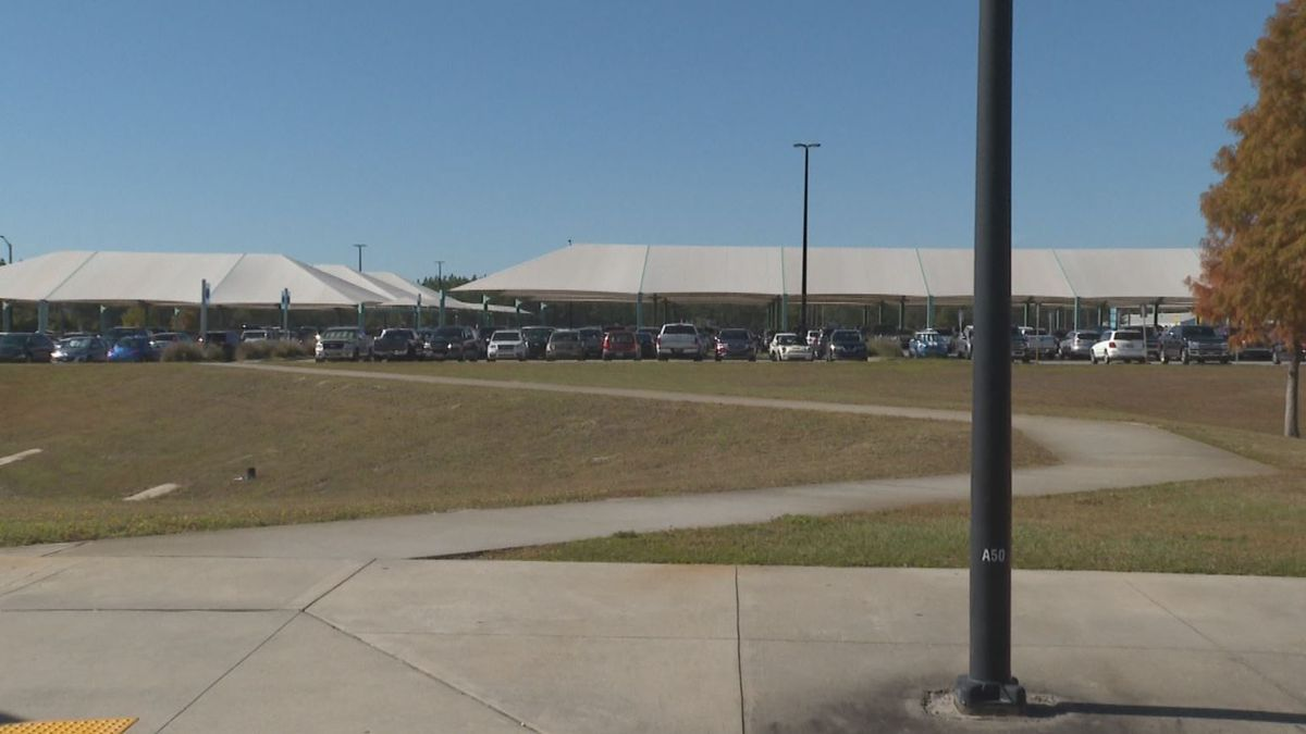 ECP will be repairing its covered parking area in January 2020. (WJHG/WECP)