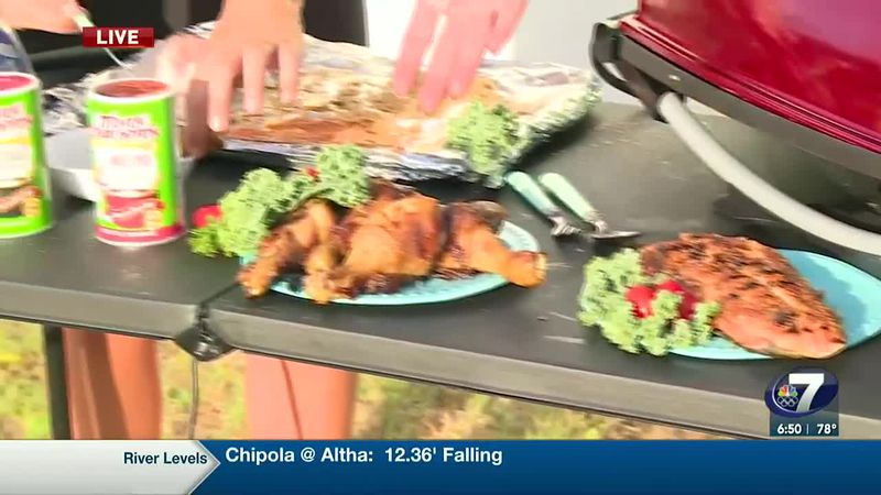 THERE IS NO BETTER TIME THAN SUMMER TO GET OUTSIDE AND GRILL UP SOME FOOD. NEWSCHANNEL 7'S SAM...