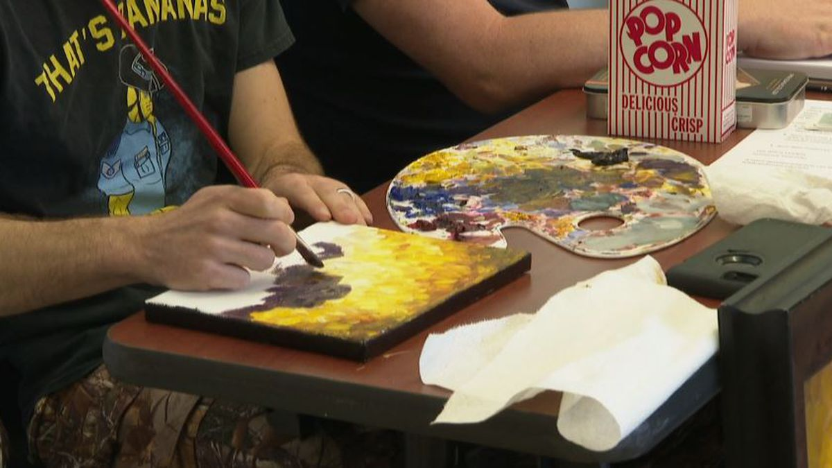 Gulf Coast State College helped local artists find jobs at the Creative Career Fair Saturday. (WJHG/WECP)