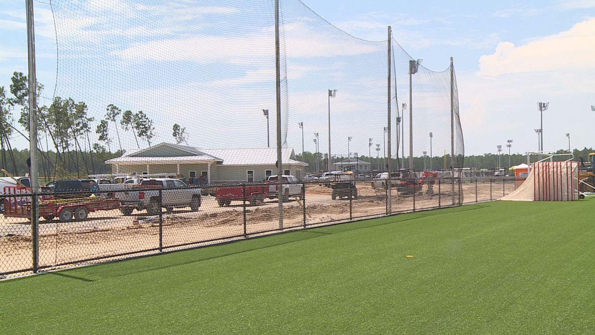 The Panama City Beach Sports Complex is still being worked on, but will host a tournament Monday. (WJHG/WECP)