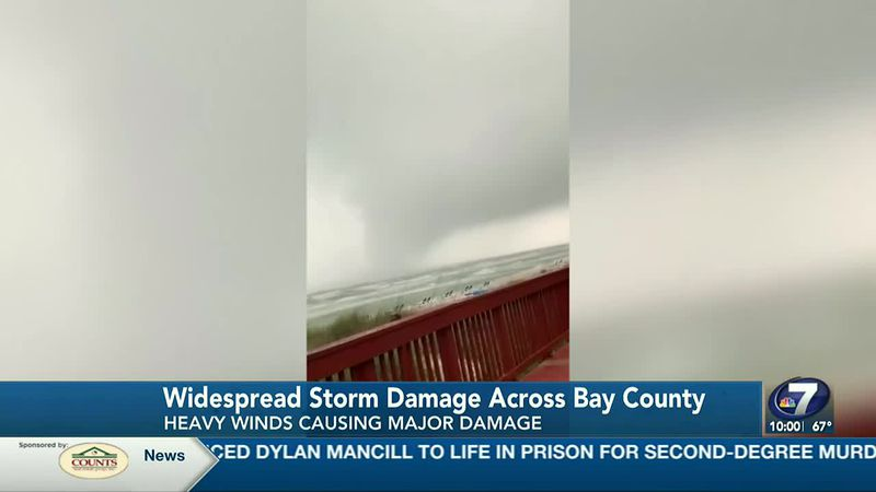 Storm damage across Bay County