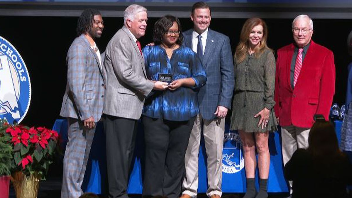 Bay District Schools announced their teacher of the year and support employee of the year awards at a ceremony Saturday morning. (WJHG/WECP)