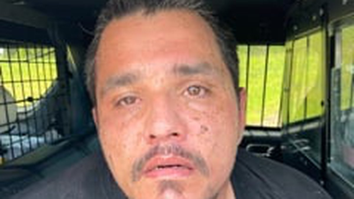 Kristopher Burton, 40, of Waterloo, South Carolina was arrested for allegedly eluding police.