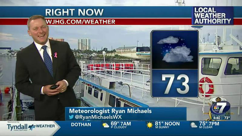 Meteorologist Ryan Michaels says we'll see a beautiful Friday ahead.