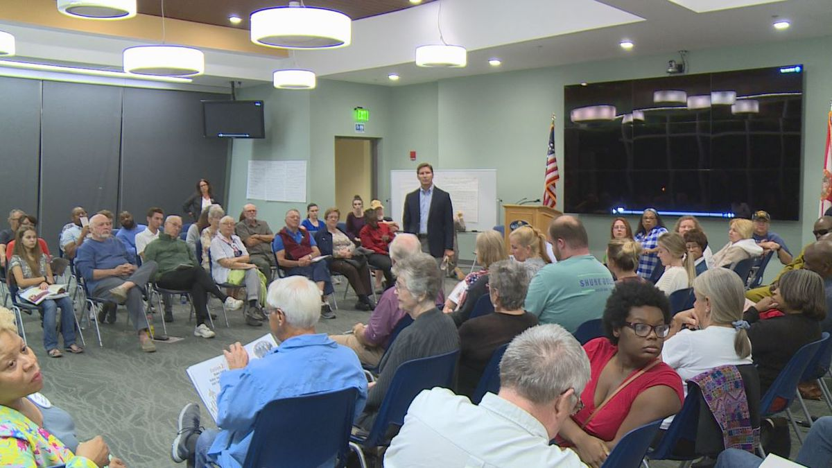The League of Women Voters of Bay County hosts democracy forum. (WJHG/WECP)