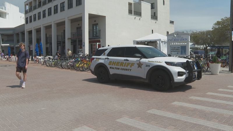 Walton County Sheriff's deputies are closely monitoring spring breakers in South Walton.