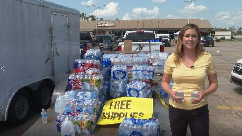 Newschannel 7's Gretchen Kernbach is in Lake Charles, Louisiana all week; Monday, she caught up...