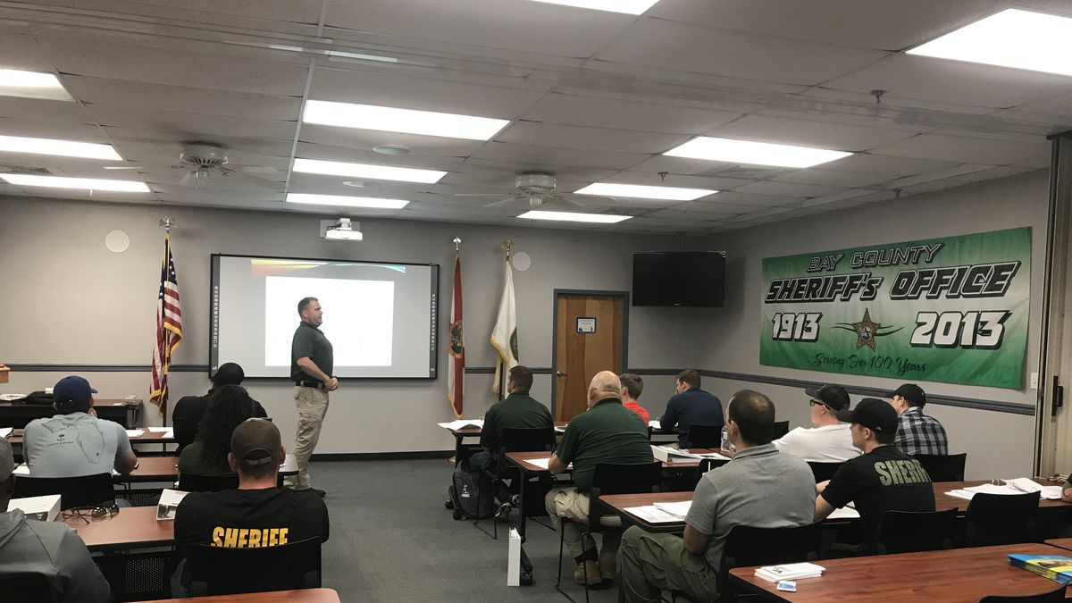 Through a state grant, the Florida Sheriff's Association is able to fund CIT training. (WJHG/WECP)